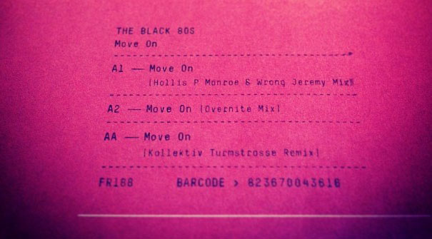 Move On EP, lo nuevo de The Black 80's | Un Festival por Dentro